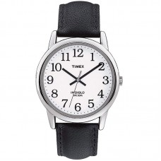 Timex Men's Easy Reader Leather Strap 38mm Watch TW2P75600
