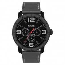 Timex Mod 44 44mm Leather Strap Watch TW2U15200