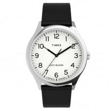 Timex Easy Reader® Gen1 40mm Leather Strap Watch TW2U22100