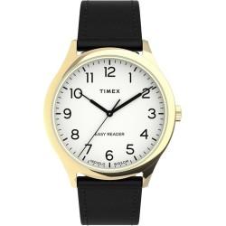 Timex Easy Reader Gen1 40mm Leather Strap Watch TW2U22200