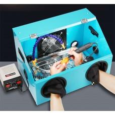 Watch Tools 220V 2 holes Acrylic Dust Box