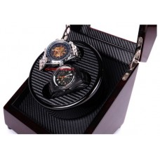Watch Winder  Wooden Case Double Space