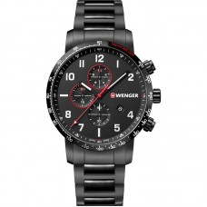 WENGER Attitude Chronograph 44mm Men's Watch 01.1543.115